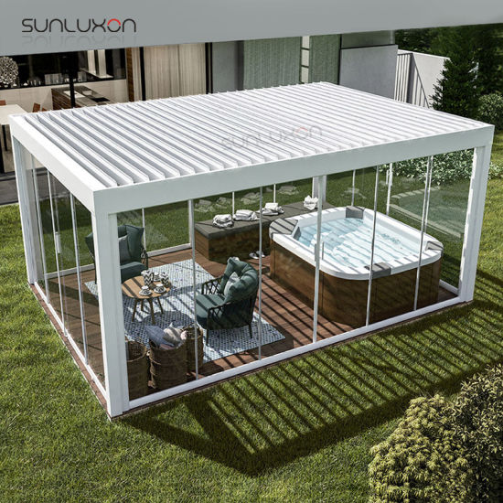 China Roof Pergola Kits Outdoor Adjustable Pergola Customized .
