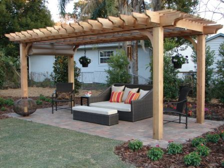 DIY Pergola Kits, pre made ready for you to assemble at home .