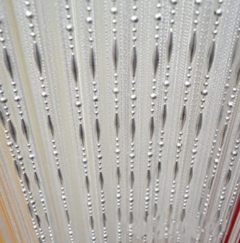 Amazon.de: HONG Quaste Perlen Vorhang Kristall Perlen Design mit .