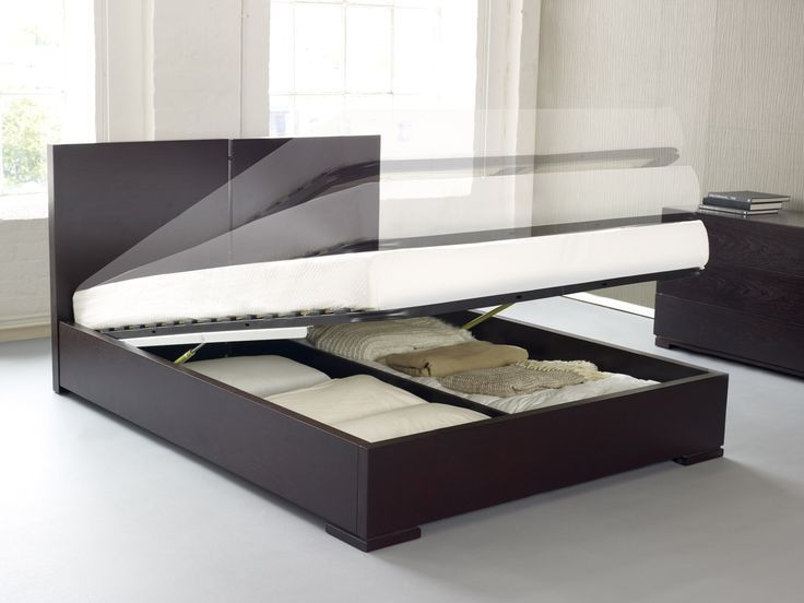 Modernes King Size Bett Holz Plattform Bett Mit Kopfteil, Full .