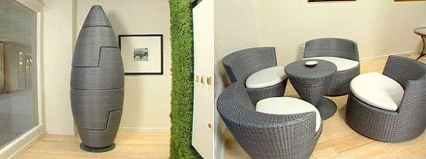 Platzsparende Möbel - 20 Ideen für kleine Räume #ideen #kleine .