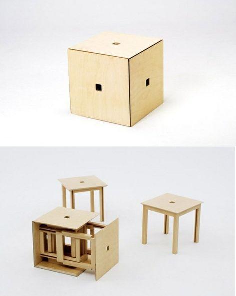 naho-matsuno-praktische-platzsparende-Mobel-vert   Möbel für .