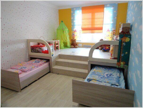 6 platzsparende Möbel Ideen für kleine Kinderzimmer .