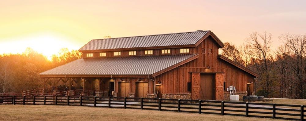 Comparing Pole Barns to Steel Barns - Polar Steel Buildin