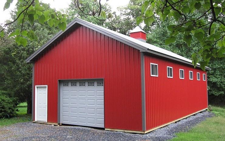 What Is a Pole Barn?   DIY Pole Barns   Oh