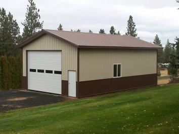 Custom Pole Barn Garage & Shed Kits   Hansen Pole Buildin