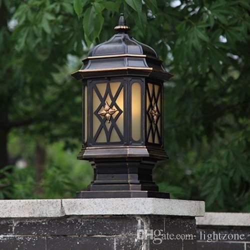 Post Lights für Gartendekoration   Beleuchtung   Gartendekoration .