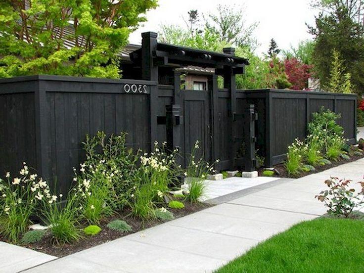 65+ Wunderbare Hinterhof Privatsphäre Zaun Dekor Ideen auf einem .