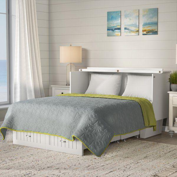 Graham Queen Storage Murphy Bed with Mattress   Wohnzimmer .