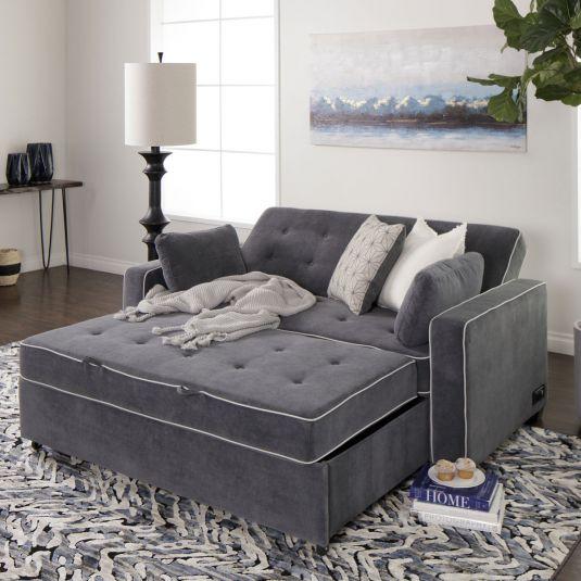 Carlton in 2020 | Queen size sleeper sofa, Pull out sleeper sofa .