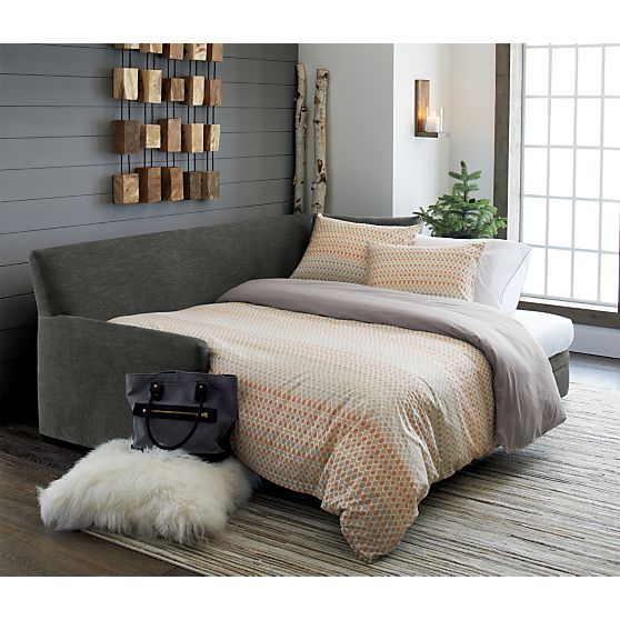 Reston Queen Trundle Sofa + Reviews | Crate and Barrel | Home .