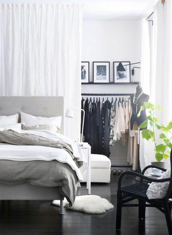 Vorhang als Raumtrenner verwenden - kluge Wohnideen | Wohnen .