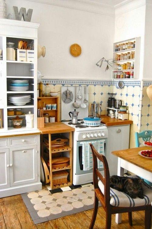 Ideen für Küchen im Retro-Look - Trendomat.c