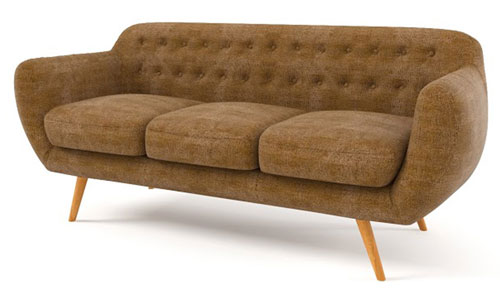 Retro Revival: Retro sofa and armchair sale at Achica - Retro to