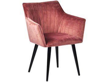 Stuhl Rosa (Velours) - Mary   Stühle, Wohnzimmer stühle, Wohn