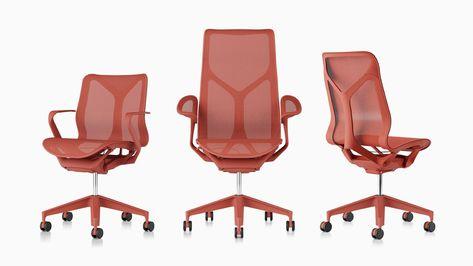 Cosm ergonomische Bürostühle mit niedriger Rückenlehne, hoher .