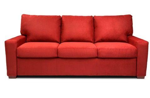 IKEA Rotes Leder Sofa | Rotes leder, Sofa, Ik