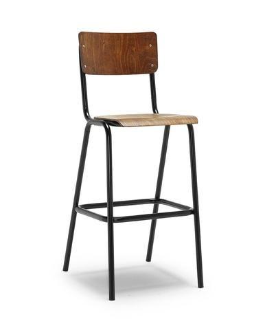Susy Vintage High Stool c/w Metal Legs in 2020 | High stool .