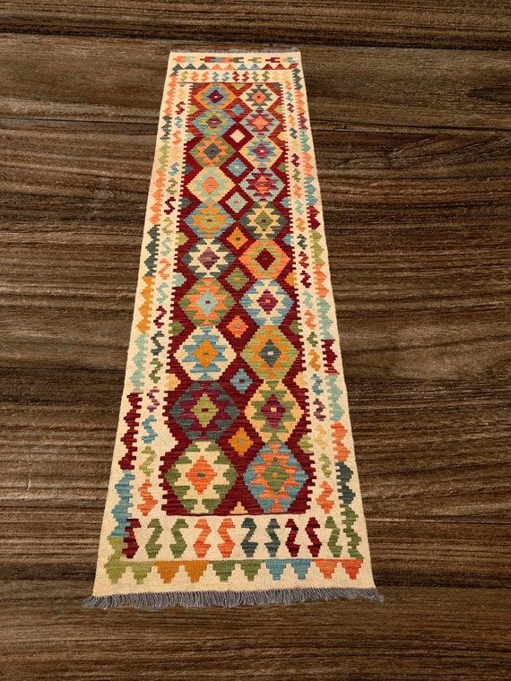 Handmade Afghan Kilim Runner Rug Runner Rug Kelim Laufer | Et
