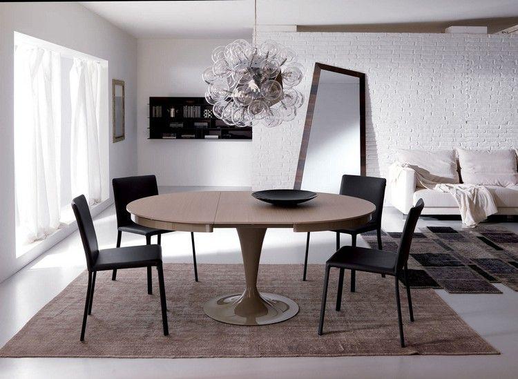 Runde Esstische als Design-Highlight: Modern und ausziehbar .