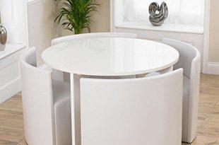Platzsparender Esstisch Und Stühle | Küchentisch und stühle .