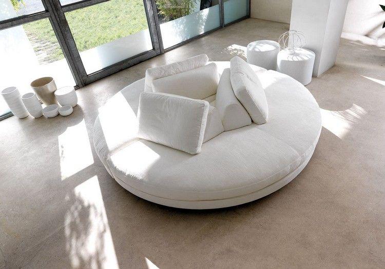 Rundes Sofa
