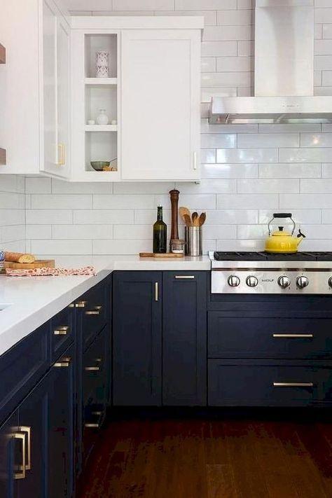 65+ erstaunliche rustikale Bauernhaus Küchenschränke Design-Ideen .
