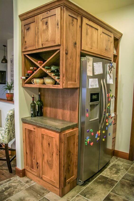 Rustikale Küchenschränke
