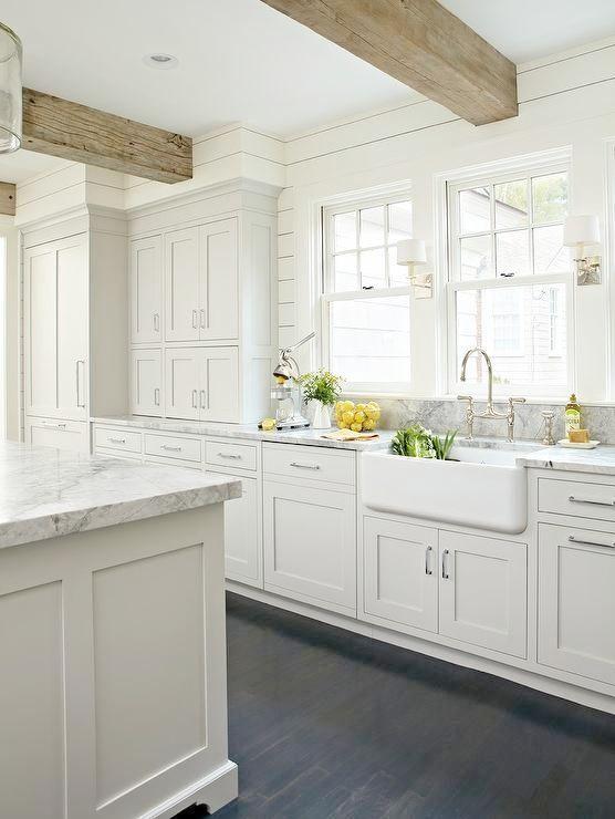 Awesome White Kitchens!!!! | Bauernhaus küchenschränke, Küche .