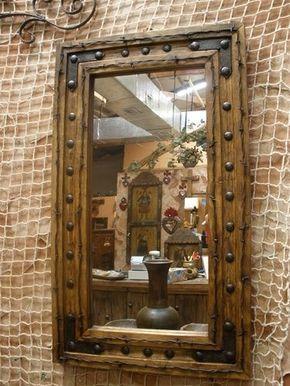 Rustikales Dekor, rustikale Hardware, mexikanische rustikale Möbel .