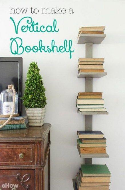 19 Ideen DIY Möbel Bücherregal Regale | Möbel für kleine räume .