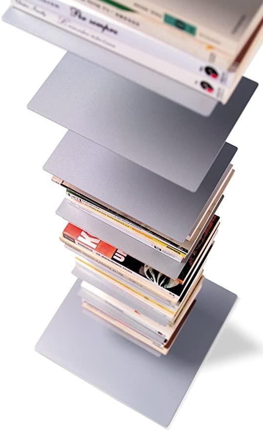 Sapiens Bücherregal 152cm - aluminiumsilber: Amazon.de: Küche .