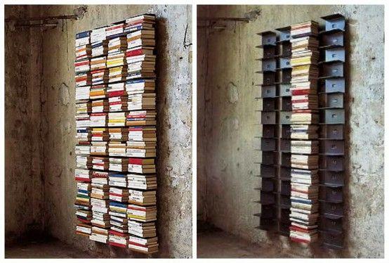 Floating Book Shelf | Sapien bookcase, Bookshelves, Bookca
