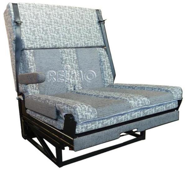 Sitz-Schlafbank mit seitliche Armlehne, Bett:170x100cm von FASP .
