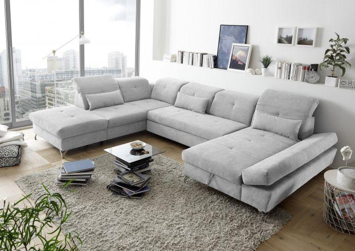 Couch MELFI L Sofa Schlafcouch Wohnlandschaft Bettsofa .