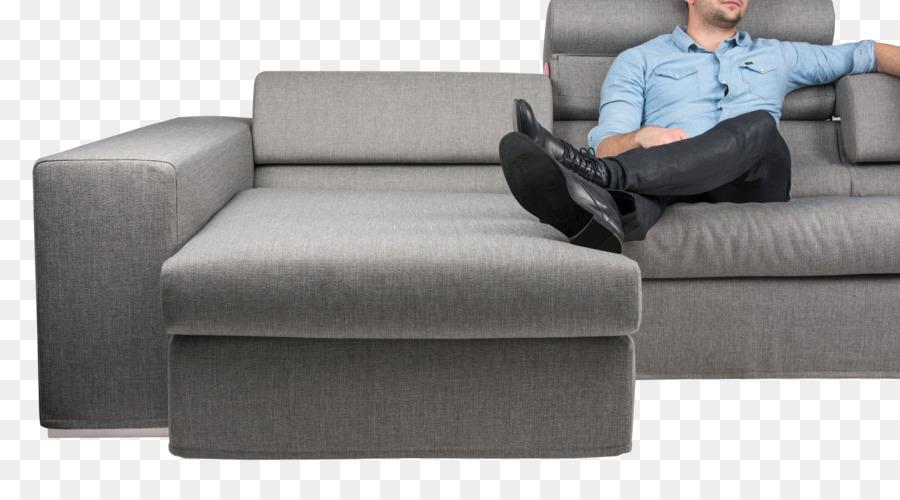 Schlafsofa Loveseat Liege Fußstützen Couch - Ecksofa png .