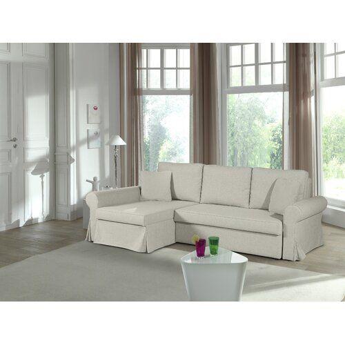 Schlafsofa Oralie mit Bettfunktion 17 Stories | Furniture, Home .