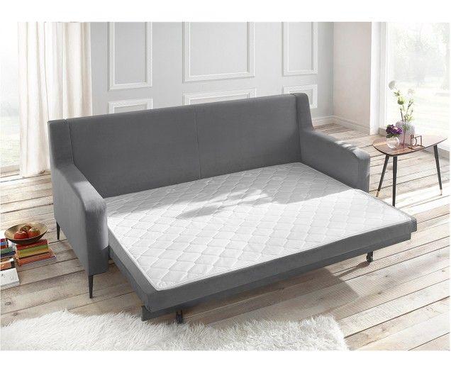 Samt-Schlafsofa Bergen (3-Sitzer) | Furniture, Bed, Cou