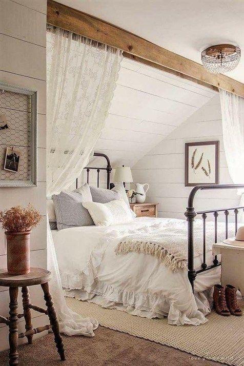 26 Die besten Schlafzimmerdekor-Ideen im Landhausstil – hoomdesign .