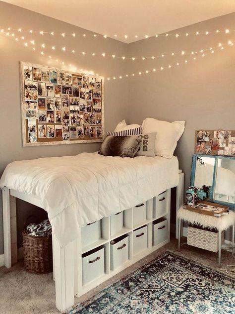 40 erstaunliche Schlafzimmer-Dekor-Ideen für Teenager-Mädchen .