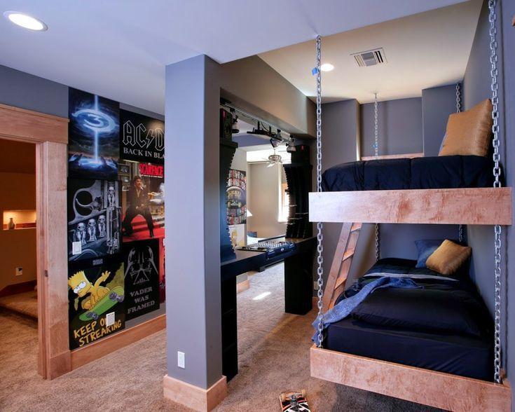 Coole Zimmer Ideen für Jugendliche | Room, Interior design living ro