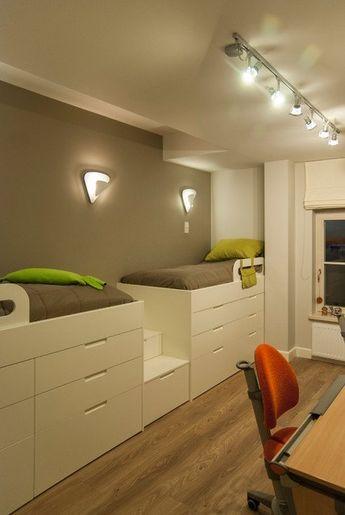 Coole Zimmer Ideen für Jugendliche | Hochbetten kinderzimmer .
