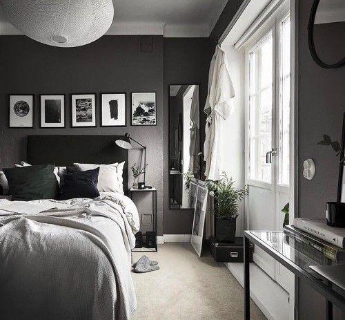 Ein Traum von Weiß und Grau | Gestaltung Schlafzimmer .
