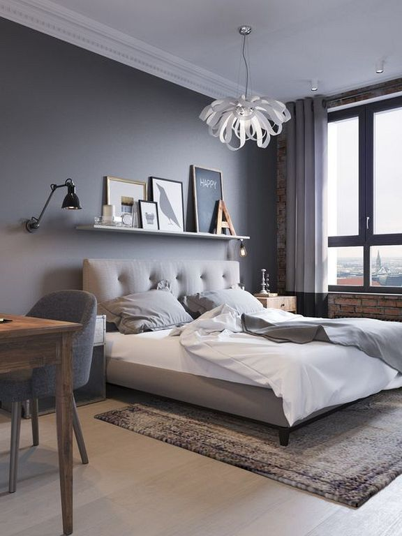 20+ minimalistische graue Teenager-Mädchen Schlafzimmer Design ein .