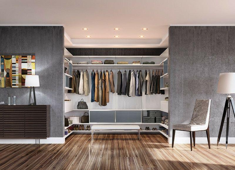 Begehbarer Kleiderschrank selber bauen - 50 Schlafzimm