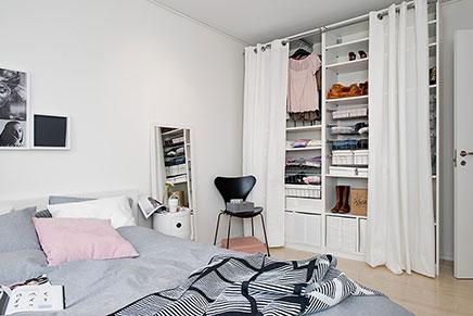 Schlafzimmer mit begehbarer Kleiderschrank | Wohnideen einricht