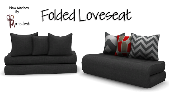 Loveseat by michelleab's SIMblr | Sims 4 bedroom, Love seat, Sims .