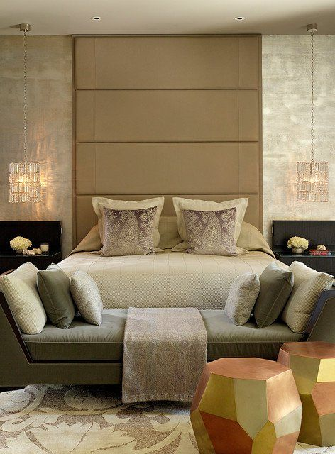 17 bezaubernde Schlafzimmer mit schönen Loveseat .