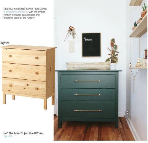 IKEA Hack unser Schlafzimmer nur die Schubladen l bedroom drawe .