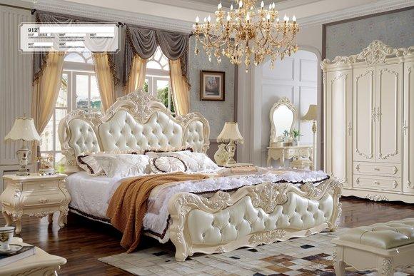 Luxus Schlafzimmer Set Garnitur Komplett Set Designer Bett Schrank .